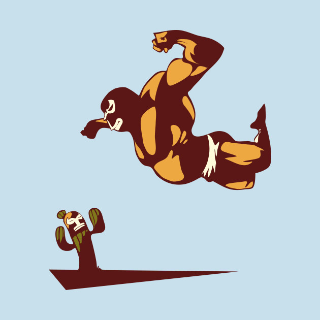 Luchadores never give up!