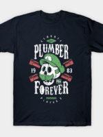 Plumber Forever Player 2 T-Shirt