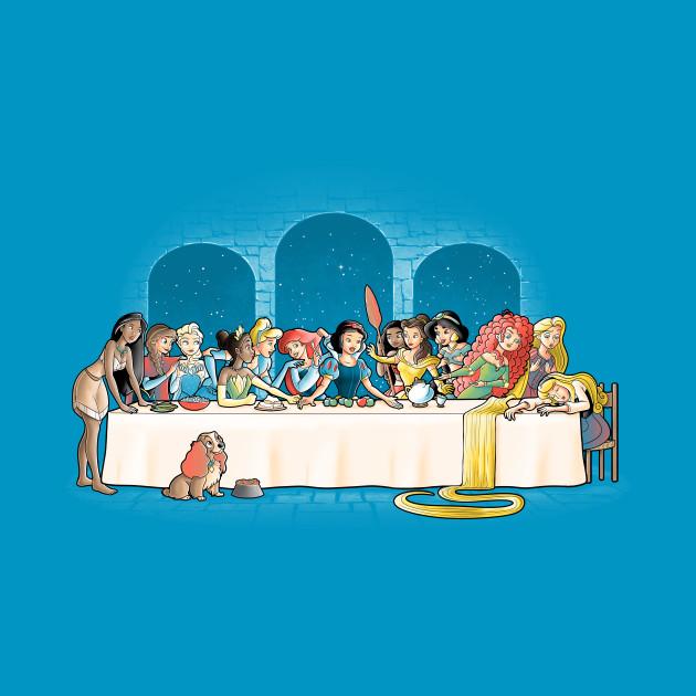 Princess dinner