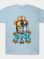 R2D2 and C3PO T-Shirt