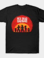 Red Dead Saiyans T-Shirt