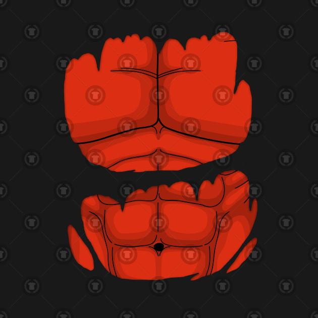 Red Hulk Torn