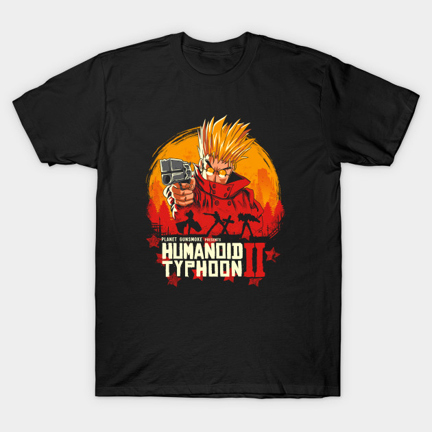 Red Humanoid Typhoon II T-Shirt