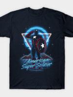 Retro American Super Soldier T-Shirt