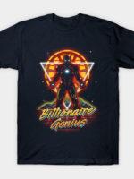 Retro Billionaire Genius T-Shirt