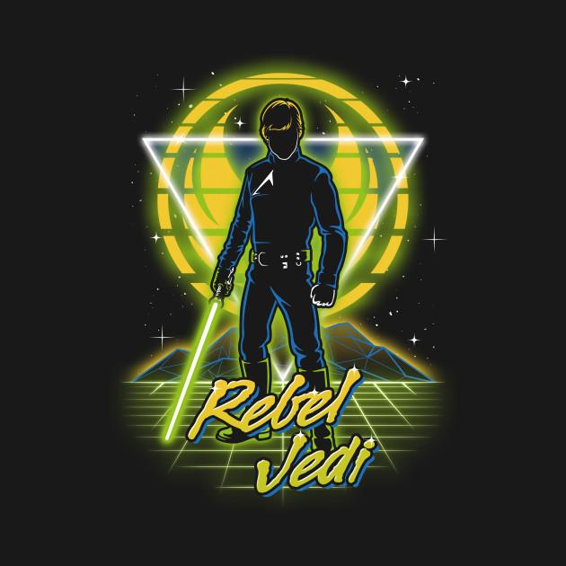 Retro Rebel Jedi