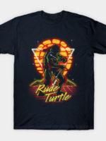 Retro Rude Turtle T-Shirt