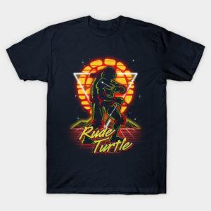 Retro Rude Turtle