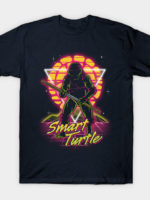 Retro Smart Turtle T-Shirt