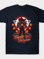 Retro Super Saiyan T-Shirt