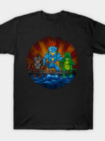Robot vs Monsters T-Shirt