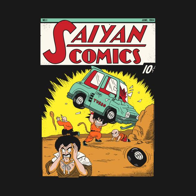 Saiyan Comics # 1