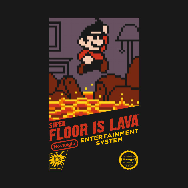 Super Floor is Lava
