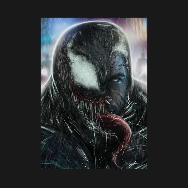 Symbiote at night