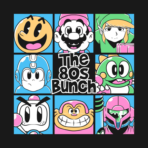 The 80s Bunch T-Shirt
