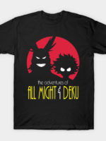 The Adventures Of All Might & Deku T-Shirt