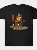 The Crocodile and the Gorilla T-Shirt