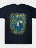 The Doctor in the starry night T-Shirt