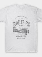 The traveler fox T-Shirt