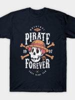 Wanted Pirate Forever T-Shirt
