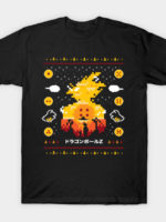 Beautiful Sunset Ugly Sweater T-Shirt