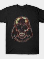 Burning Dark Skull T-Shirt