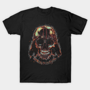Burning Dark Skull