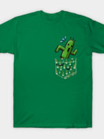 Cactuar in your pocket! T-Shirt