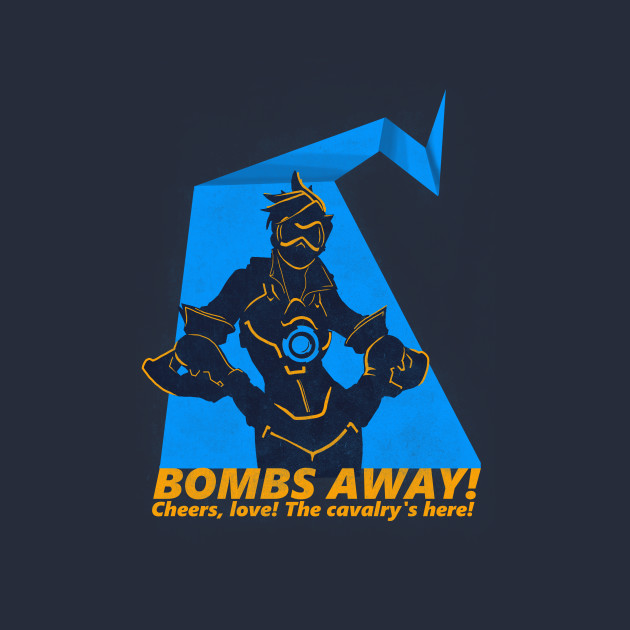 Cheers, love! The cavalry's here!