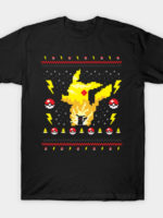 Electric Monster Ugly Sweater T-Shirt