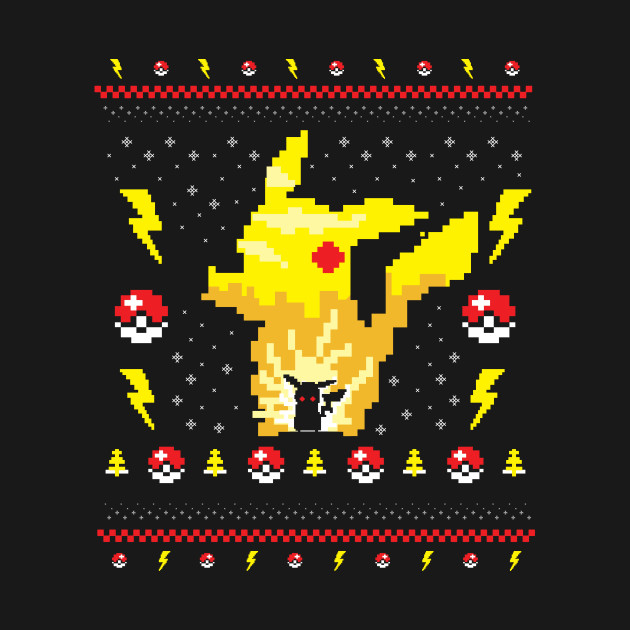 Electric Monster Ugly Sweater