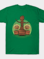 Plants vs Galaxy T-Shirt