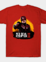 Red Devil Redemption (version Blood) T-Shirt