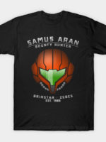 Samus Aran - Bounty Hunter T-Shirt