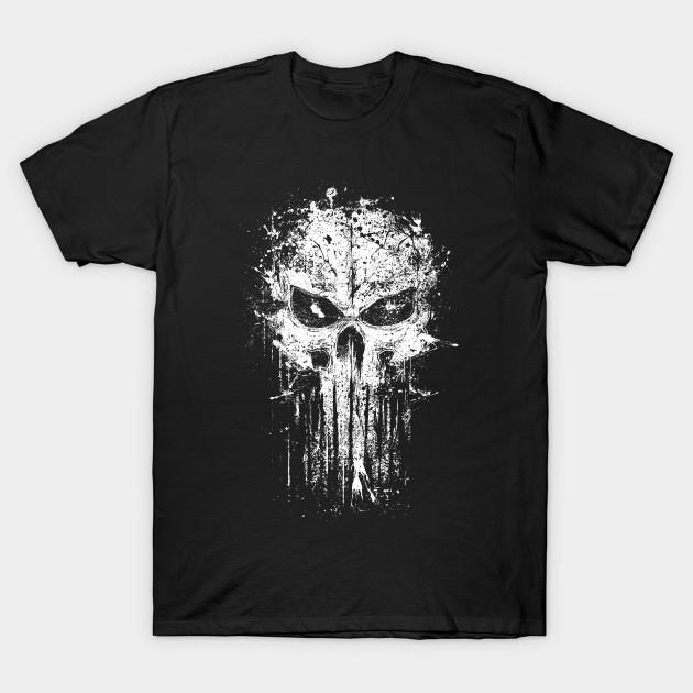 Splatter skull