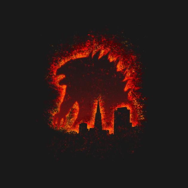 The Burning Monster