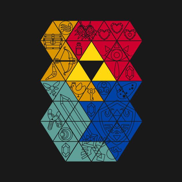 Triforce items