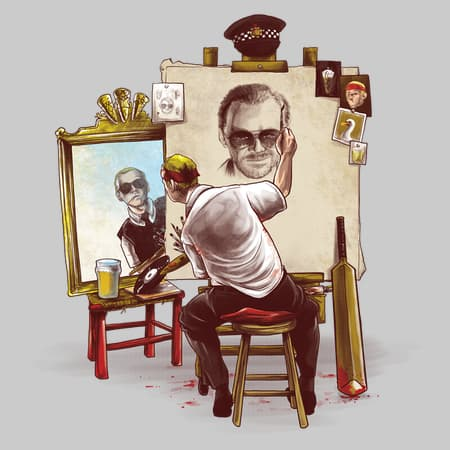 Triple Cornetto Portrait