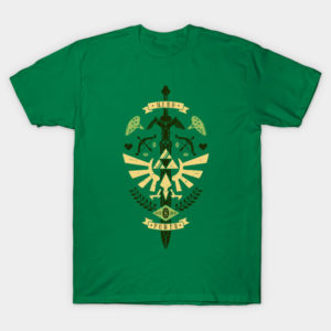 Zelda Crest Green