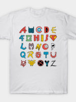 Comics Alphabet T-Shirt