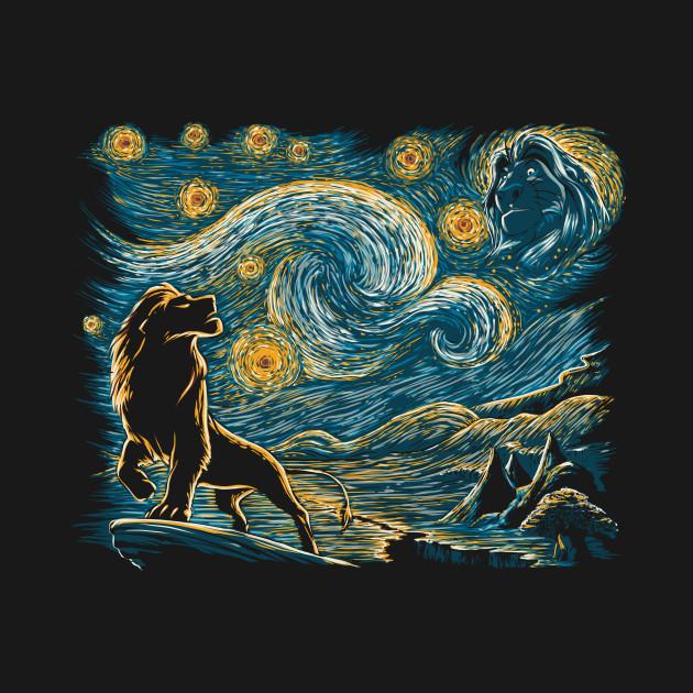 Lion King Art T-Shirt