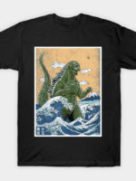 king off monsters from kanagawa T-Shirt