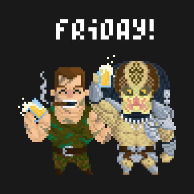 Arnie & Predator