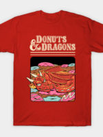 Donuts and Dragons T-Shirt