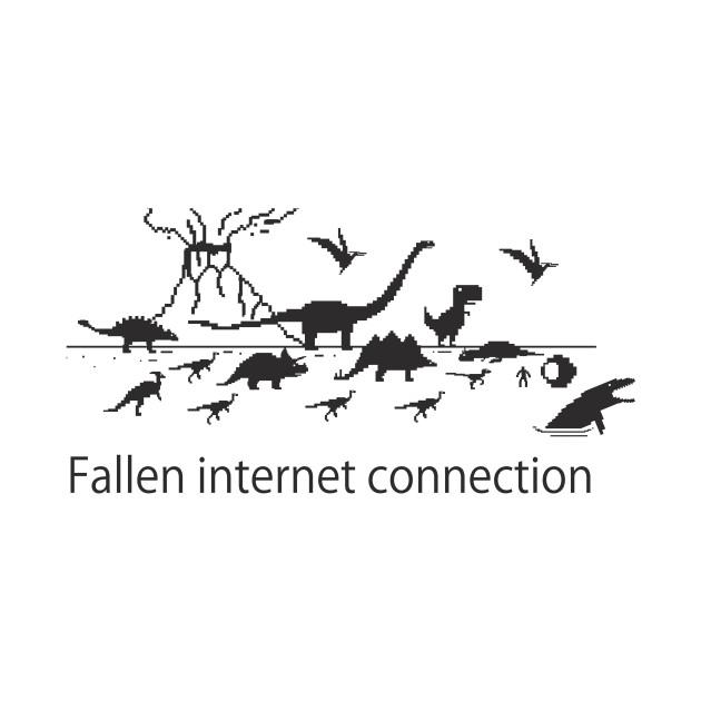 Fallen internet