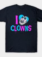 I Heart Clowns T-Shirt