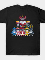 Power Rangers Simple T-Shirt