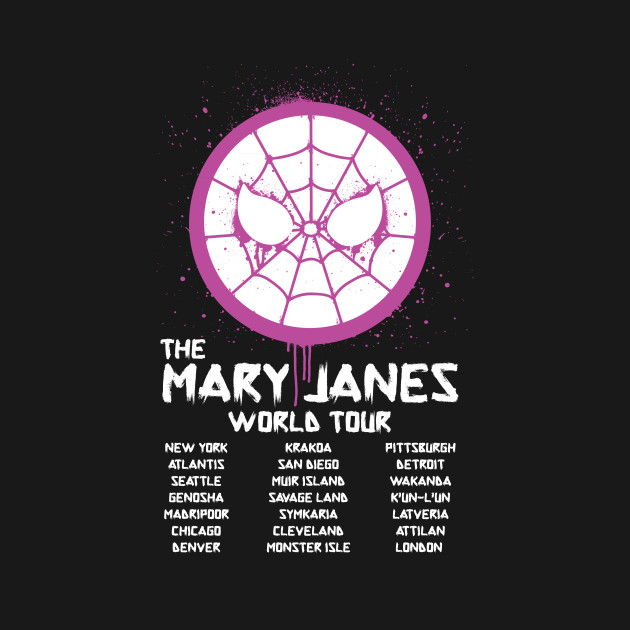 The Mary Janes World Tour