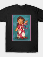 Alien Meets Lilo and Stitch T-Shirt
