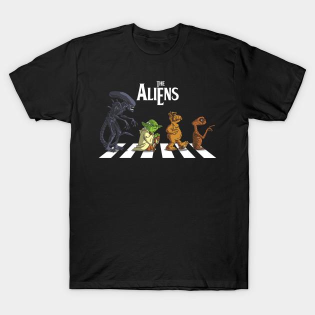 Alien Road T-Shirt